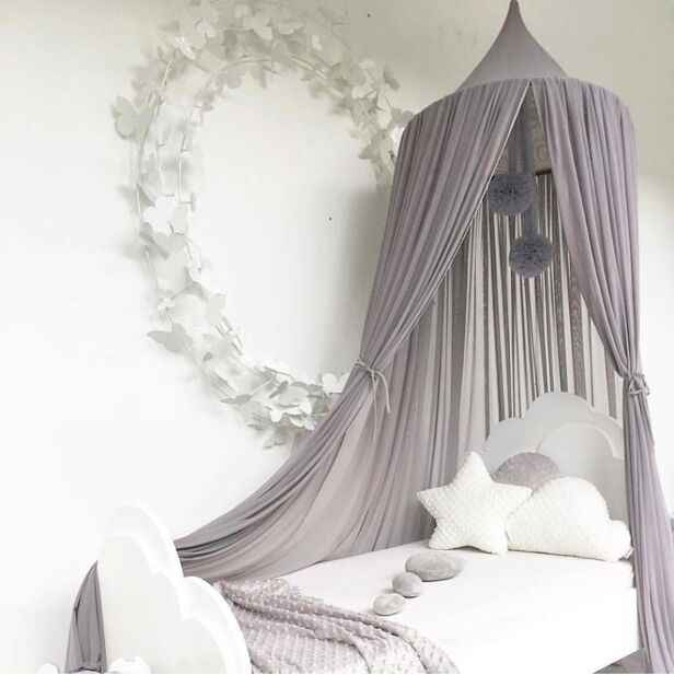 2019 Kids Princess Canopy Bed Curtain