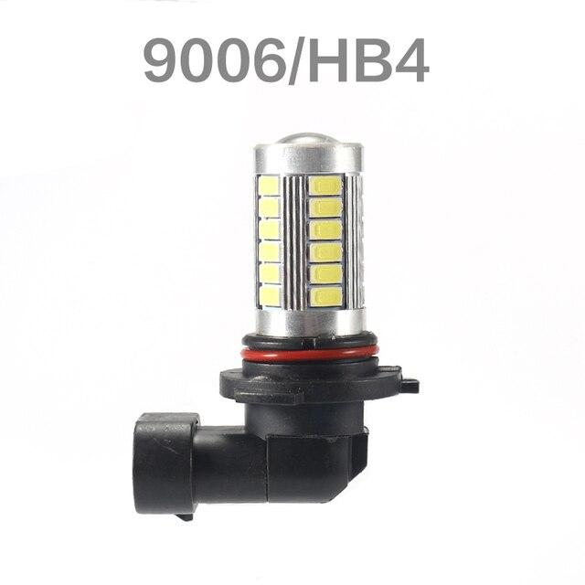Ampoules antibrouillard Auto H4 H7 | H8 H11 H10 H16(jp) 9005 hb3 9006 hb4 1156 BA15S 1157 BAY15D 33SMD 6000