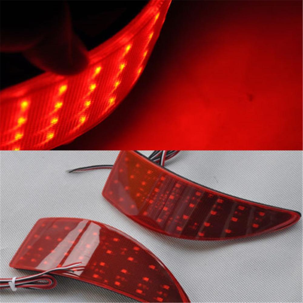 Голубой залив почвы для Lexus is250 по is350 для 06 07 08 09 10 11 12 13 LED задний бампер отражатель тормоз хвост свет