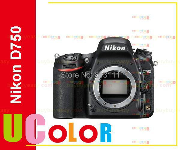 Nikon D750 DSLR Full Frame Digital Camera -24.3MP FX-Format -Full HD 1080p Video -3.2 Tilting LCD Wi-Fi (Body Only,New) nikon d5600 dslr camera 24 2mp full hd 1080p wi fi bluetooth 2016 new release