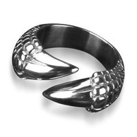 Bahamut Dragon Tail dragão Talon Dragon Claw anel jóias de aço titânio frete grátis