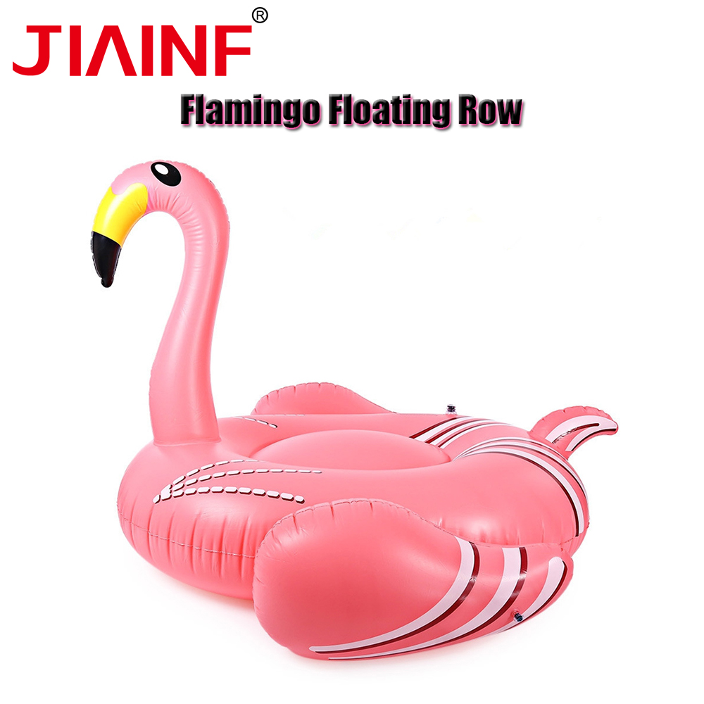 JIAINF Personal Air Mattresses Inflatable Pegasus Flamingo Floating Rideable Swimming Pool Toy Float Raft For Diving Swimming