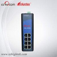 Hightek HK 85008 промышленных неуправляемый 8 портов 10/100/1000 м сетевой коммутатор Ethernet
