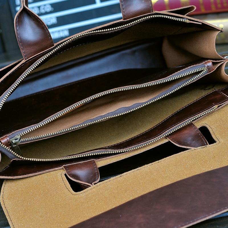 bolsa em couro genuíno real Material : Real Genuine Leather