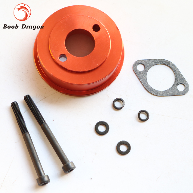 CNC metal base plate of air filter fit 23cc 26cc 29cc engine parts for hpi baja 5b 5t(km rovan)
