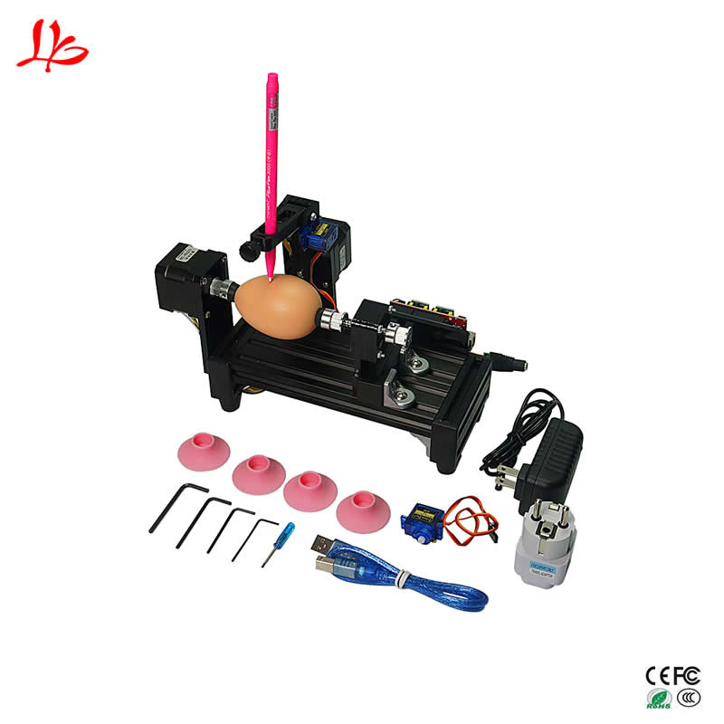 Assembled LY Egg drawing robot Spheres draw machine ball creat advanced toys USB computer writingAssembled LY Egg drawing robot Spheres draw machine ball creat advanced toys USB computer writing