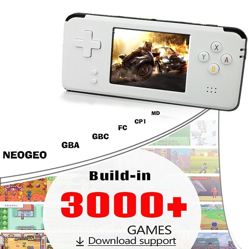 Portable Video Handheld Game Console Retro 64 Bit 3 Inch 3000 Video Game Retro Handheld Console To TV RS 97 RETRO GANE 07