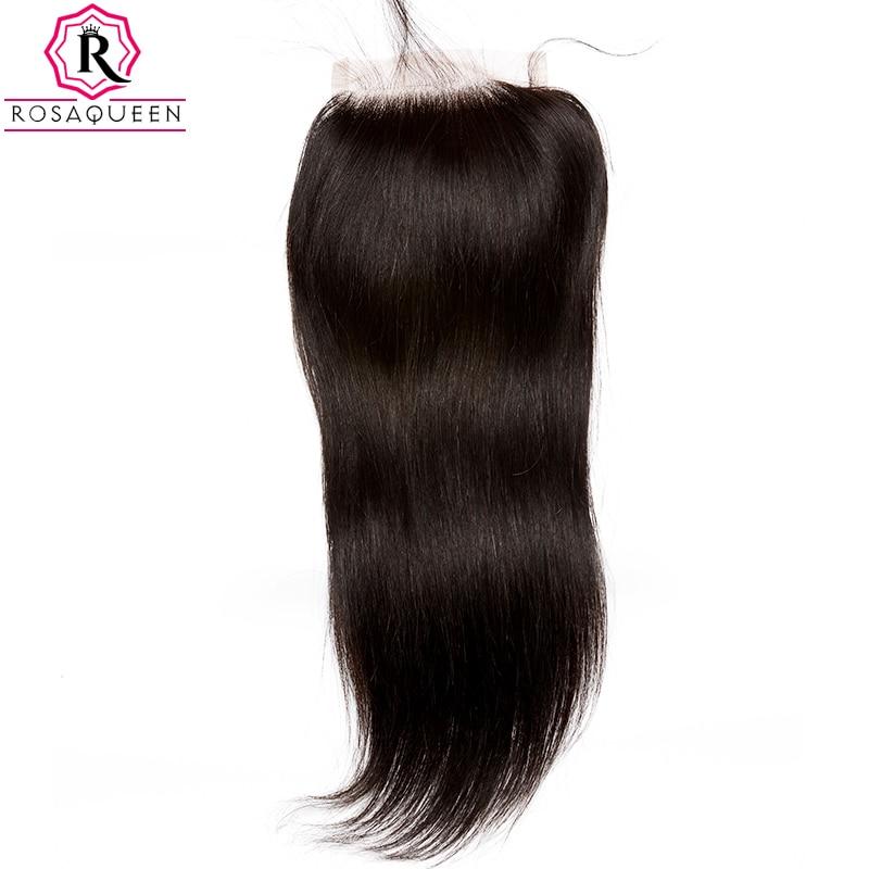 Dolago čipke zaprtje z otroškimi lasmi naravnost Remy las naravne - Človeški lasje (za črne) - Fotografija 2