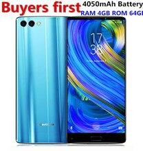 HOMTOM S9 Plus 5.99″ Tri-bezelless 18:9 HD mobile phone MTK6750T Octa Core 4G RAM 64 ROM 4050mAh 16MP+5MP Camera OTG Smartphone