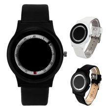 Baolande2016 venta caliente kanishi hombres mujeres banda analógico de cuarzo relojes de pulsera de negocios guapo ma 31