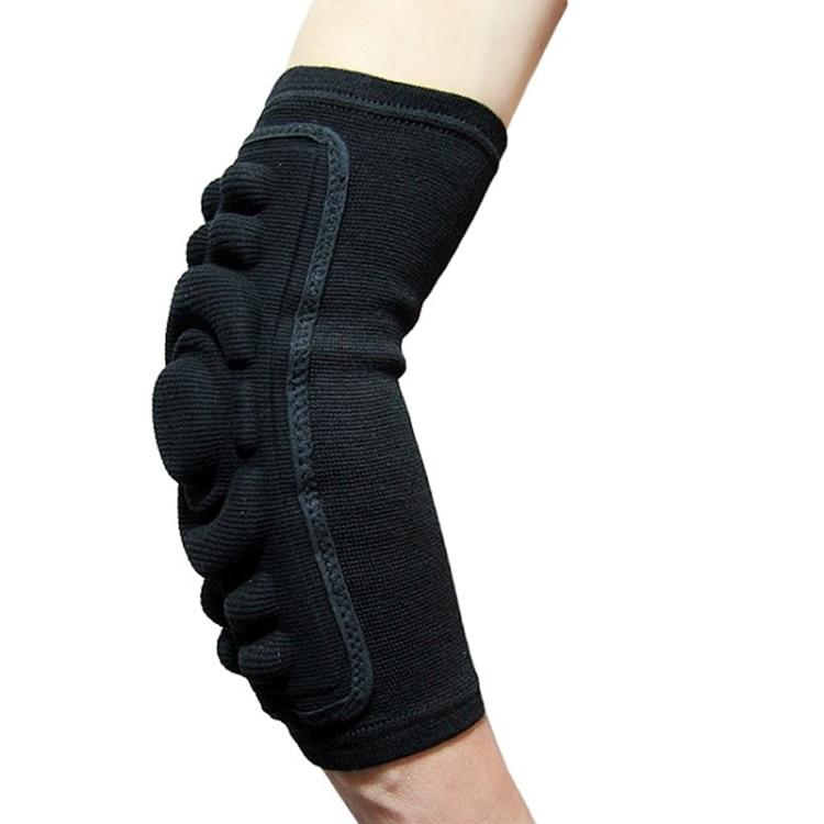 Prix pour 2 pc/lot professionnel Long et épais haute-densité bras coudière de protection pad gym sport de basket-ball éponge bras protecteurs