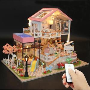 Big size house Miniature Diy P