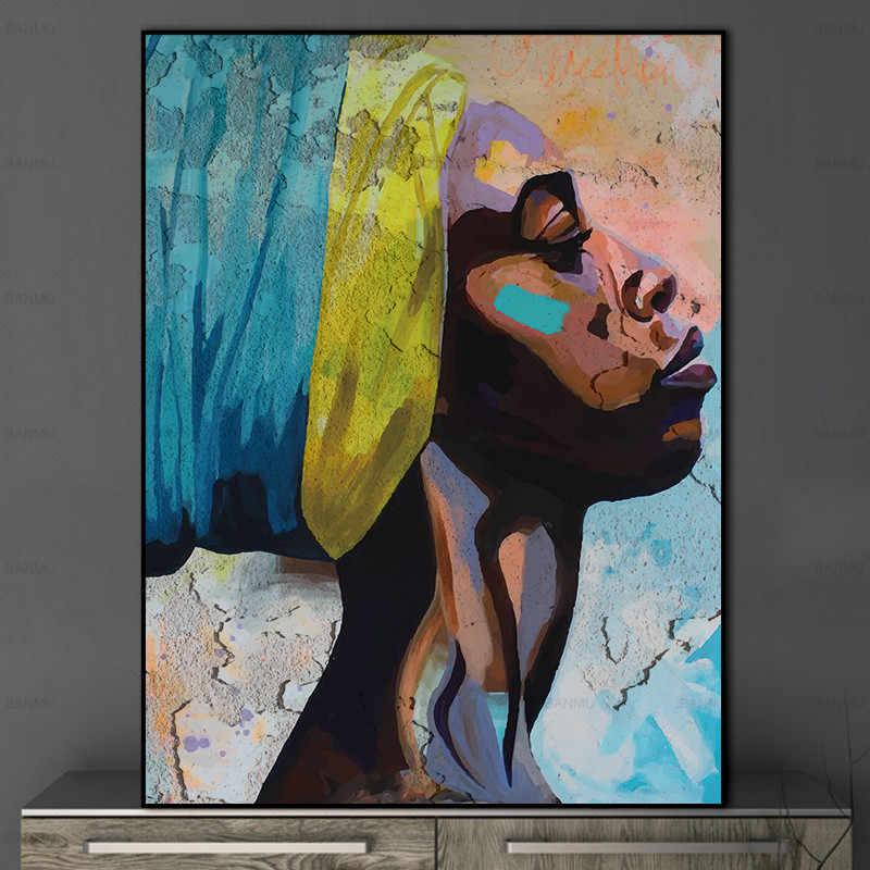 Настенный художественный плакат печать на холсте картины без рамки Абстрактная живопись рисунок на холсте украшение дома для гостиной