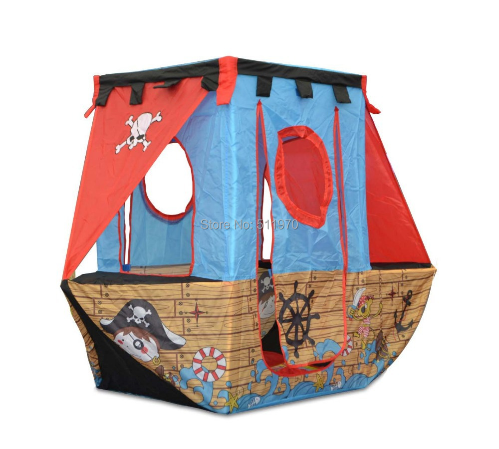 Free Shipping piratical vessel shape children tent ball houses children bed tent tent game for giving away 50pcs sea balls-in Toy Tents from Toys u0026 Hobbies ...  sc 1 st  AliExpress.com & Free Shipping piratical vessel shape children tent ball houses ...