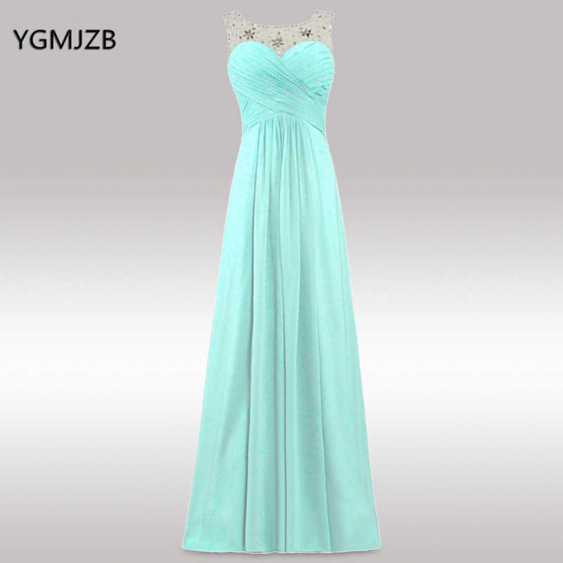 a31e46fa20 Detail Feedback Questions about Elegant Bridesmaid Dresses 2018 A ...