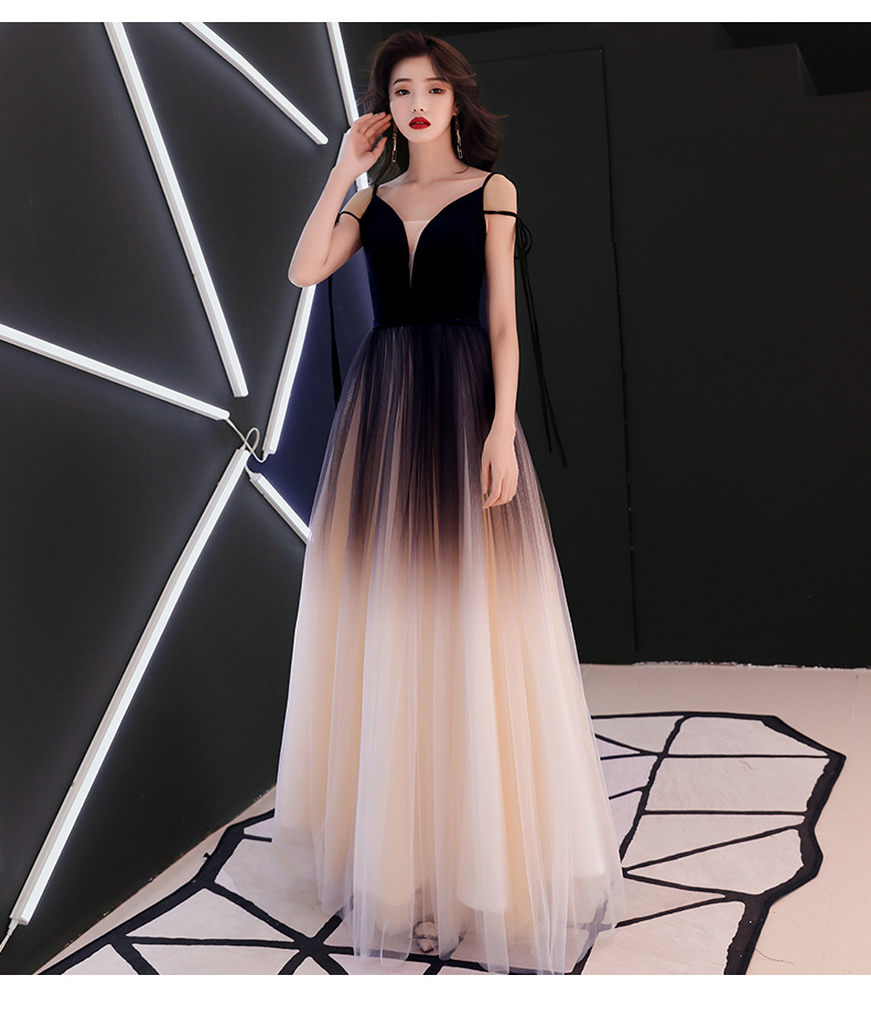 xunyAng Hot Sell Sweet 3 colors Lace V- neck Lacing Long Evening Dress The Bride Party Sexy Backless Prom Dresses gown  Custom(China)