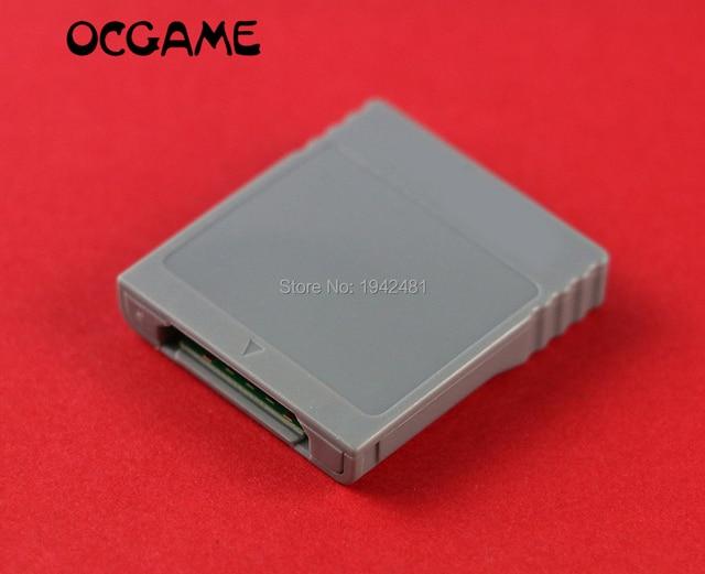 OCGAME SDหน่วยความจำแฟลชWISDบัตรติดอะแดปเตอร์แปลงAdapter Card ReaderสำหรับWii NGCเกมคิวบ์เกมคอนโซล20ชิ้น/ล็อต