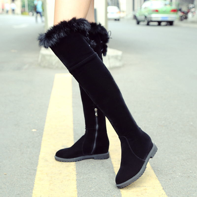 Compare Prices on Thigh High Boots Low Heel- Online Shopping/Buy ...