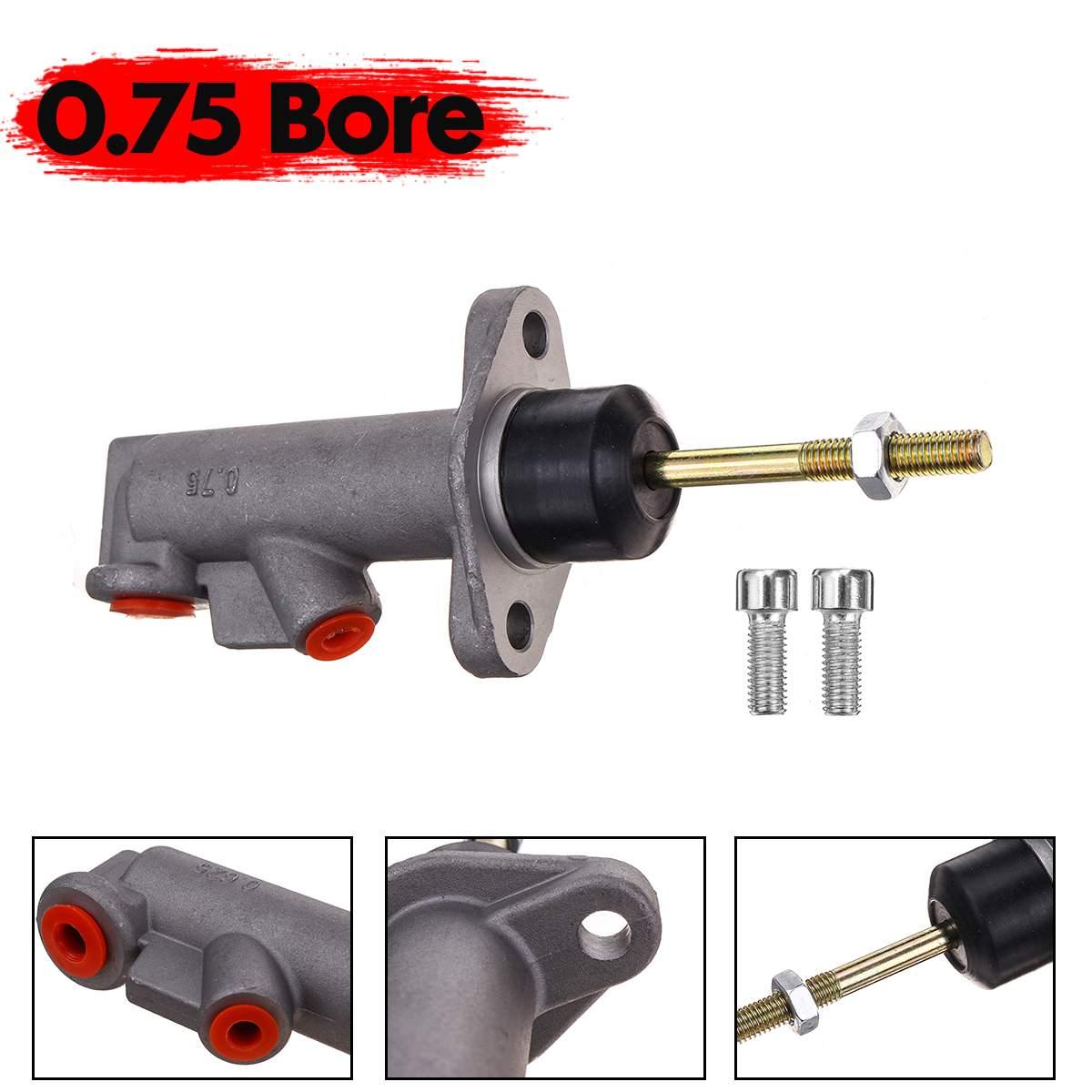 """8/"""" Car Brake Clutch Master Cylinder 0.625 Bore Thread Hydraulic Handbrake Pump"""