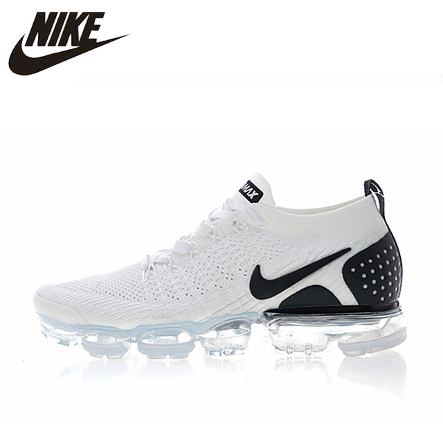 outlet store sale c234a 9f7e9 US $80.3 45% OFF|NIKE AIR VAPORMAX FLYKNIT 2 Mens and Women Running Shoes  Sneakers 942842 103 Sport Outdoor Shoes-in Running Shoes from Sports & ...