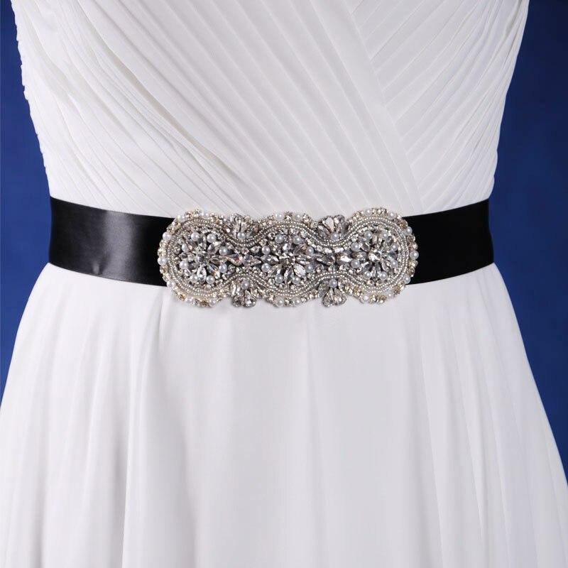 Trixy A47 Vintage Wedding Belts Crystal Wedding Dress Belt Crystal
