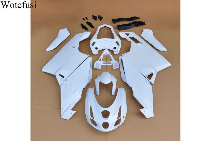 Wotefusi ABS Injection Mold Unpainted Bodywork Fairing For Ducati  999 749 2003 2004 [CK1030] household product shell plastic injection mold