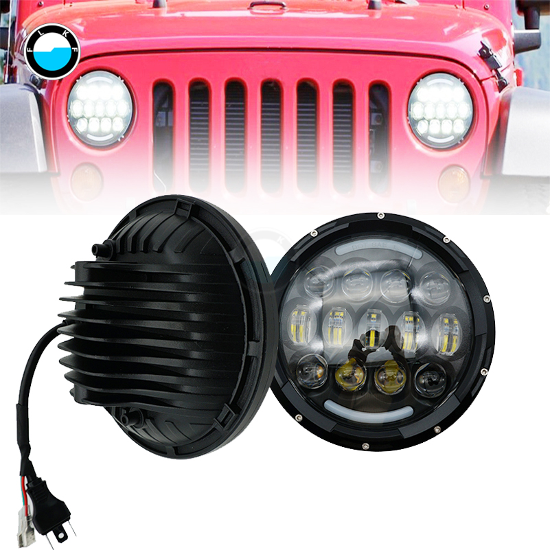 newest led headlights for kenworth t2000 t 2000 1998 2010 tractor trailer truck lamps 1pair. Black Bedroom Furniture Sets. Home Design Ideas