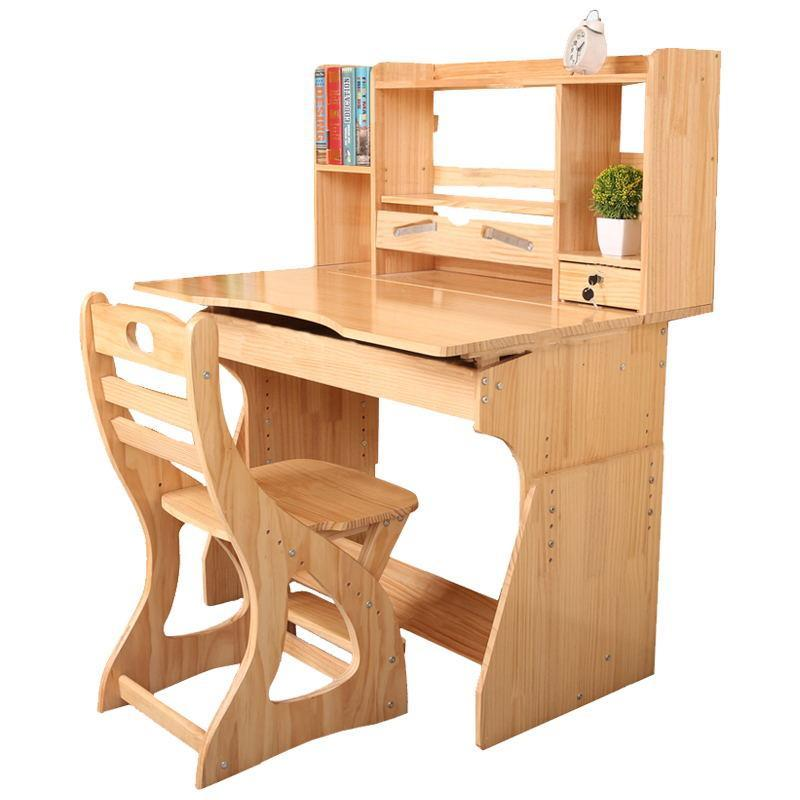 Children 's and chairs set children' s wooden study table student desk desks children s learning set writing desk chair sets student desks and chairs new