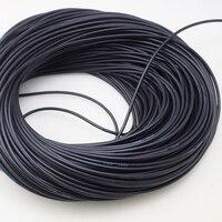 18 AWG 50 m Ölçer Silikon Tel Için Esnek Telli Bakır Kablo RC Siyah