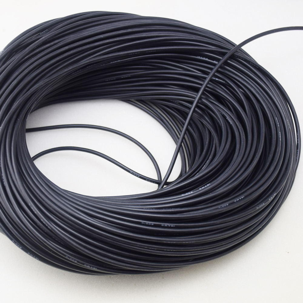 18 Awg 50m Gauge Silicone Wire Flexible Stranded Copper