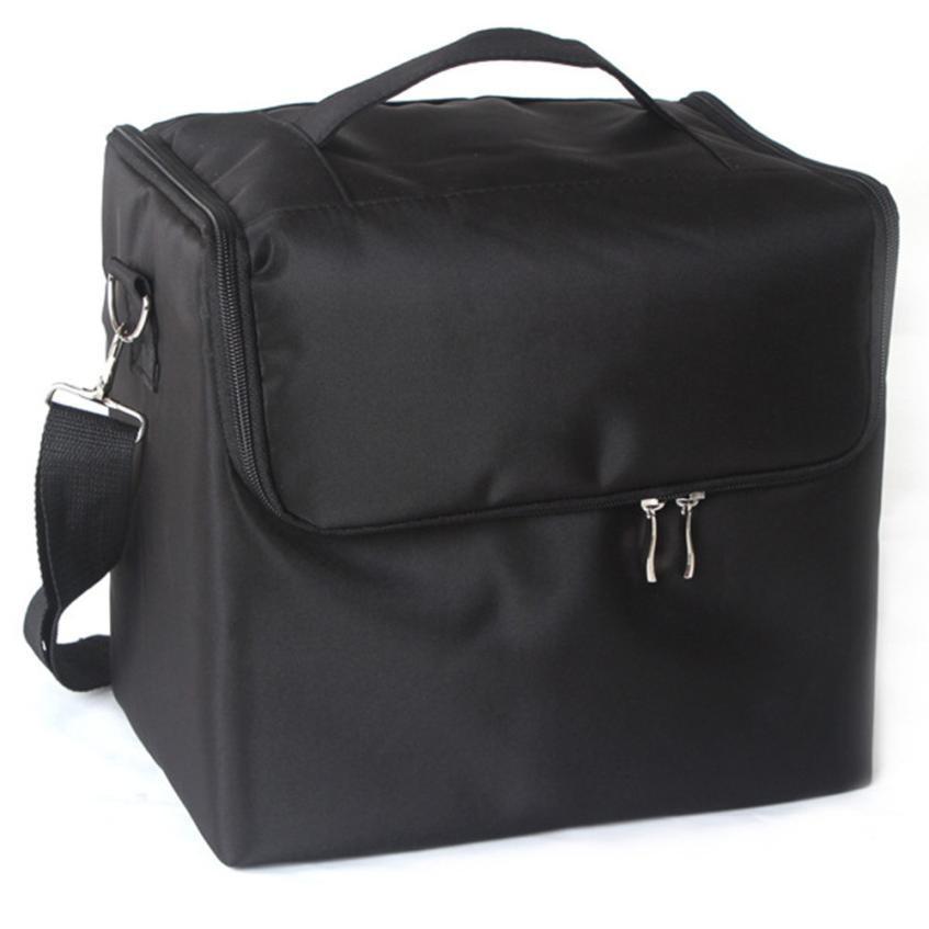 Professional Makeup Bags Cloth Cosmetics Boxes Portable Shoulder style Artists make up bag neceser organizer maleta de maquiagem