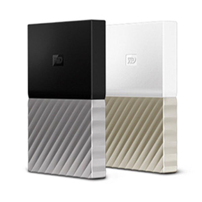 WD 1 ТБ 2 ТБ 4 ТБ внешний жесткий диск HDD Disk Passport USB3.0 Портативный Disco Duro Externo Disque Western Digital ТБ 2 ТБ TO
