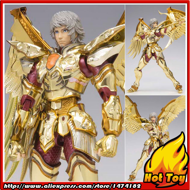 Original BANDAI Tamashii Nations Saint Cloth Legend Action Figure - Sagittarius Aiolos from