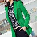 2015 women's autumn long-sleeve female blazer outerwear slim medium-long suit female autumn and winter top suit JX180