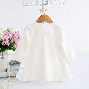 Image 4 - ฤดูใบไม้ผลิฤดูใบไม้ร่วงฝ้ายไข่มุกเด็กเสื้อผ้าเด็กแรกเกิดทารกชุดเด็กทารกชุดเด็กทารกเสื้อผ้าเด็กหญิง vestido infantil 2 สี