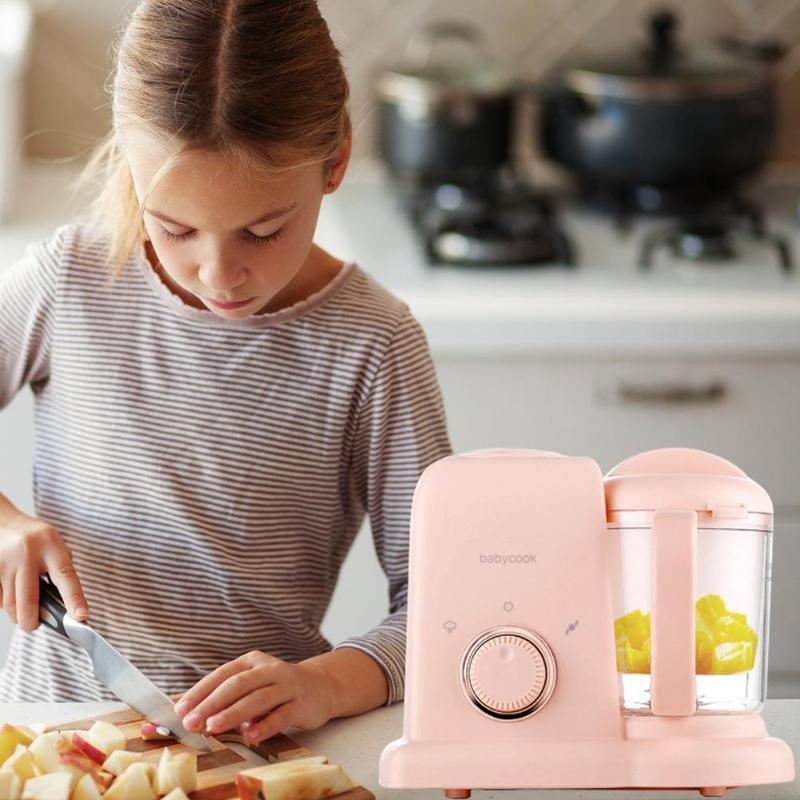 Кухня Мелкая бытовая техника Кухонные комбайны DIY Электрический нагрев здоровый производитель для новорожденных малышей твердого сока
