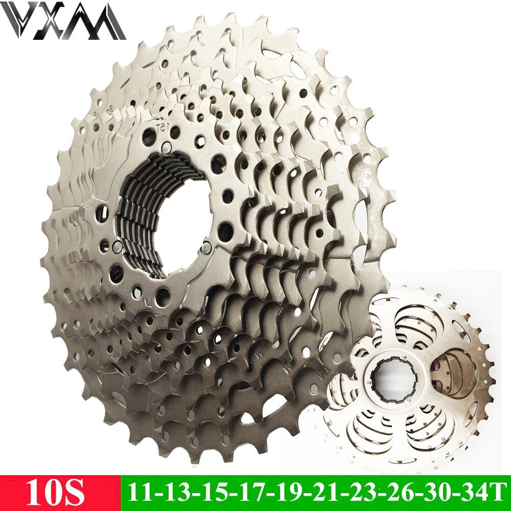 VXM Bicycle Flywheel Mountain Bike Flywheel 10S Cassette Freewheel 10 Speeds Flywheel 11-34T Teeth Crankset Bicycle Part