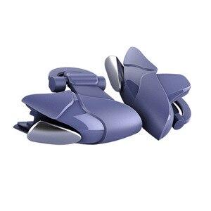 Image 5 - Azul shark design pubg telefone inteligente móvel gaming trigger pubg controlador móvel fogo/aim botão l1 r1 shooter joystick gamepad
