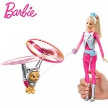 лучшая цена Barbie Originals Dolls Star Adventur Barbie Fly Pet Toys For Children Of American Girl Doll Brinquedos For Birthday kawaii Gift