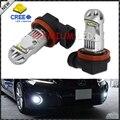 2 unids Poder Más Elevado Brillante Estupendo 6000 K Xenon Blanco CRE'E XB-D H8 H11 LED Bulbos del Reemplazo Para la Luz de Niebla Lámparas de conducción