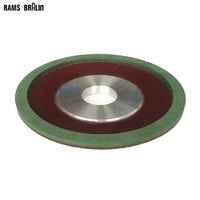 150 32 10 4mm Premium Quality Dish Shaped Diamond Resin Abrasive Grinding Wheel 90 Degree Flap