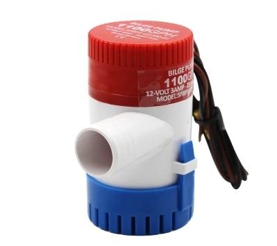 Bomba elétrica de bilge, bomba de água submersível para aquário, 350 500 1100gph dc 12v 24v, 750 barcos em casa