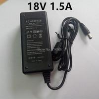 AC 110-240V 18V 1,5 A 30W Universal Power Adapter Versorgung Ladegerät adapter US EU AU UK für LED licht streifen motor CCTV Transformator