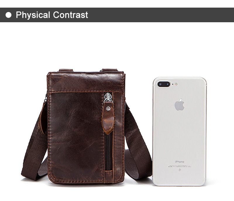 9 genuine leather waist packs fanny pack belt bag
