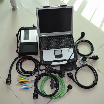 mb star c5 vendiamo 2020.03 newest software hdd installed well in laptop cf30 ram 4g all cables full set diagnostic tool