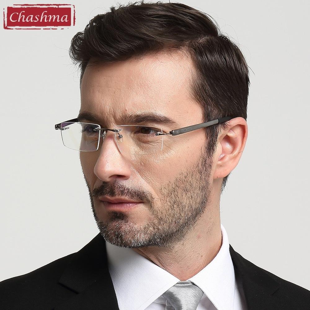 Chashma Brand Eyewear Kişi Eynəklər Optik Çərçivəsiz, Rəngsiz - Geyim aksesuarları - Fotoqrafiya 2