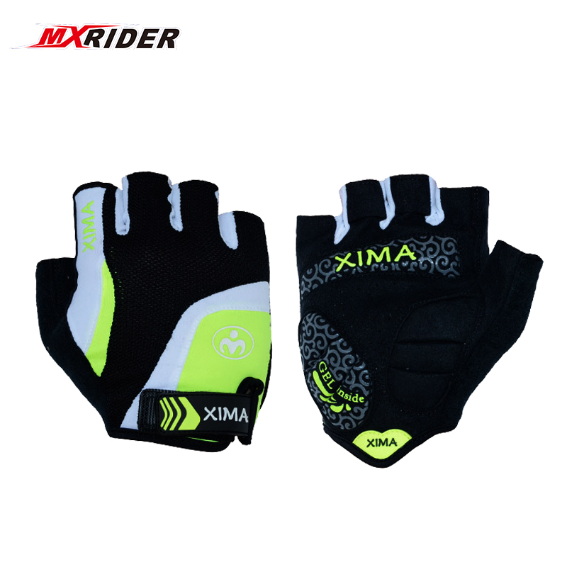 Half Finger Mens Womens Summer Biker Bicycle Gloves Sport Mountain Bike Gloves Cycling Gloves Breathable