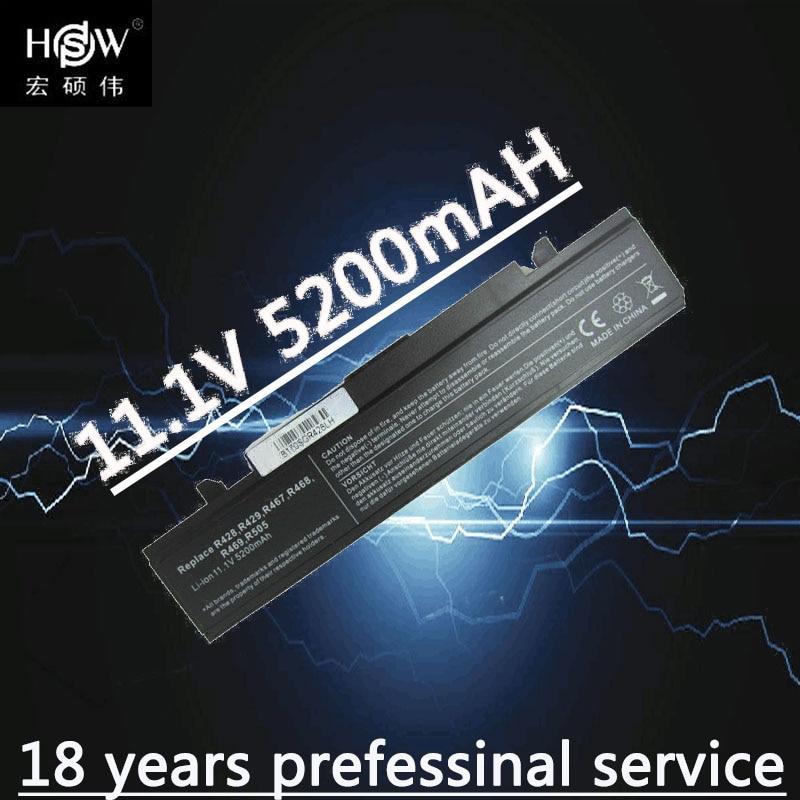 HSW 6 sel Baterai Laptop untuk SAMSUNG R580 R540 baterai R530 R429 baterai R520 R428 R522 R528 R420 R425 R425 R780 R525 baterai Laptop