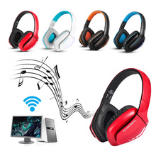 KOTION EACH B3506 Wireless Bluetooth Headphones Foldable Gaming Headset with Mic LED V4.1 Stereo Headsets for PS4 PC Computers