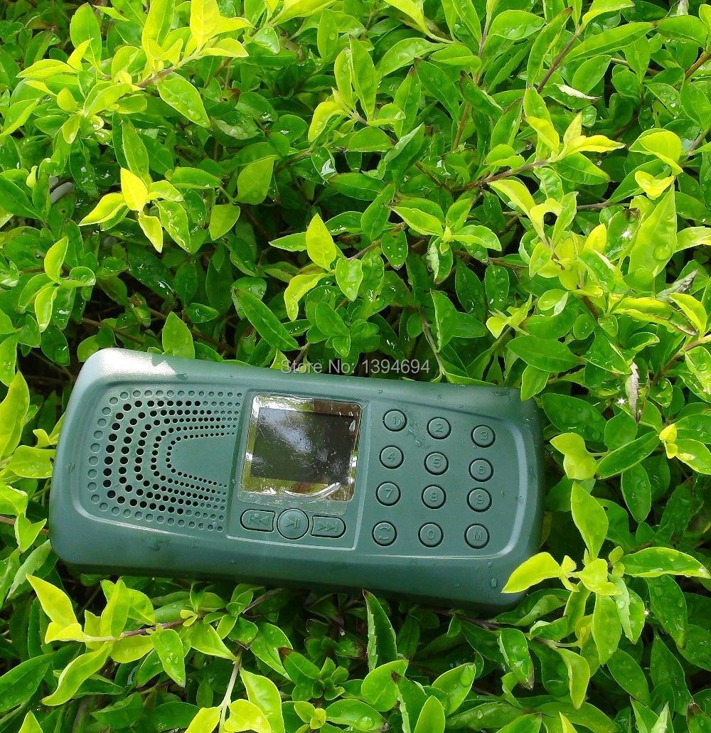 ФОТО 10w bird sound speaker bird caller for hunting use hunting bird caller